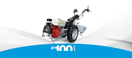 New 407 S Limited Edition two wheel tractor
