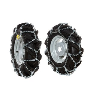 "Pair of snow chains for 5.00x10"" wheels"