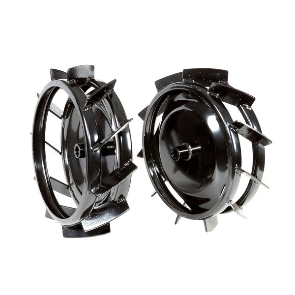 Pair of metal wheels Ø 370 mm